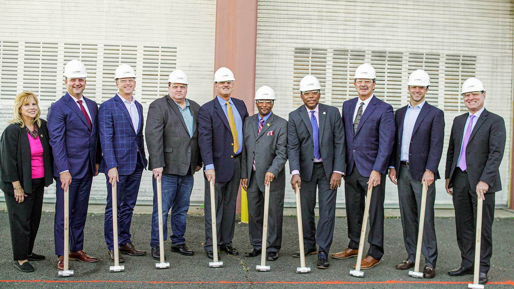 Breaking Ground at the Aries Linden Biosolids Gasification Plant